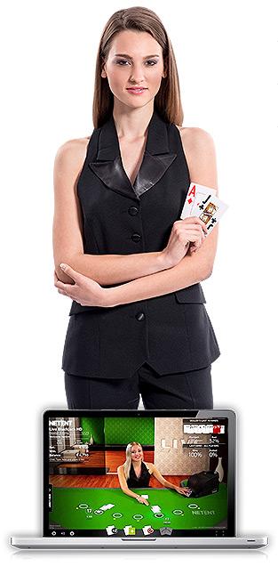 Jouer au Casino Live avec des croupières en direct !