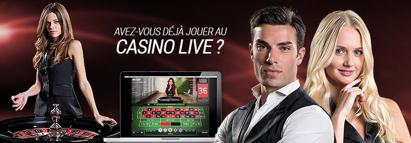 Casino Live : Jouer au casino en ligne avec des croupiers réels