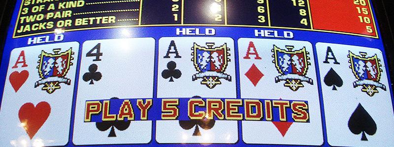Règles et stratégies du Video Poker