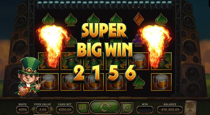 Super Big Win ! Un bonus colossal de la machine à sous chance Rainbow Ryan !