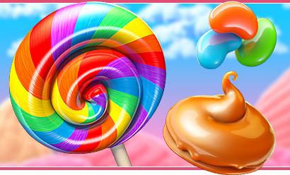Bonus machine à sous 3D Betsoft Gaming : Sugar Pop II