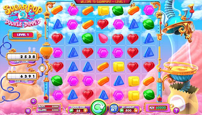 Envie de jouer sur une machine à sous appétissante ? Essayez Sugar Pop 2 !
