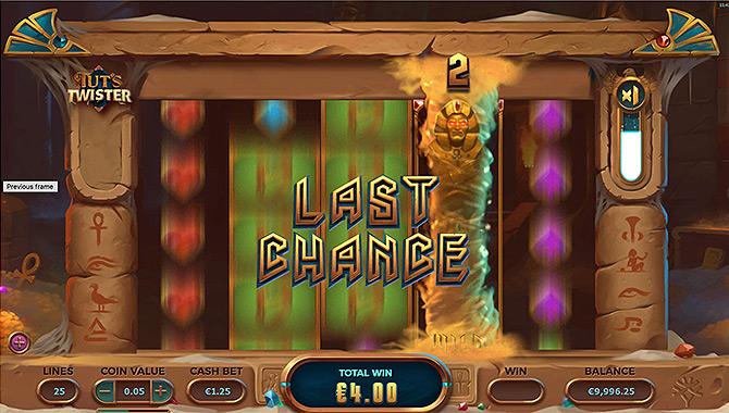 Une machine à sous Yggdrasil Gaming sur le thème de l'Egypte !
