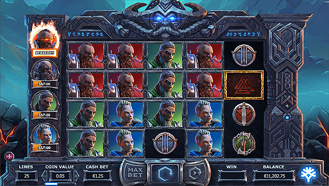 Jeu d'argent de casino en ligne : Vikings Go To Hell