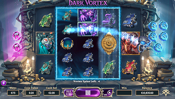 Machine à sous jeu gratuit Dark Vortex