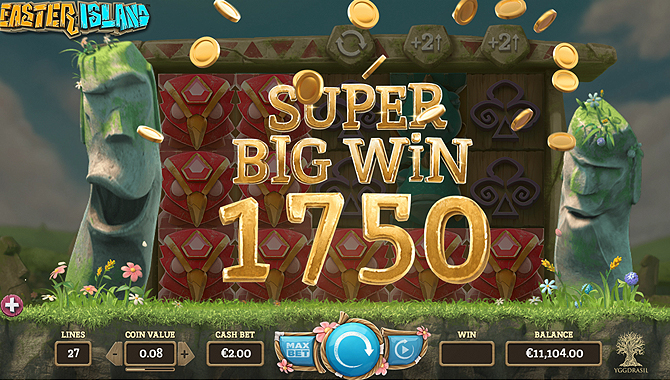 screenshot big win easter island