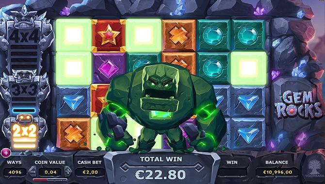 Jeux d'argent Gratuit Gem Rocks