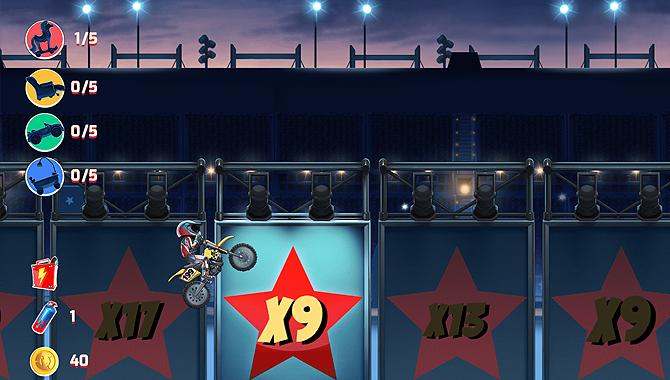 Jeux casino gratuit Nitro Circus