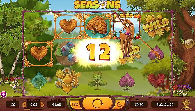 Slot gratuit jeux casino Seasons