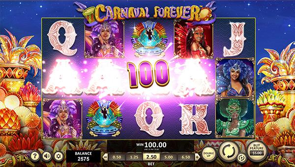 Videoslot Casino Betsoft Carnaval Forever