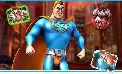 Jeu de casino en ligne Super Héro Spinfinity Man