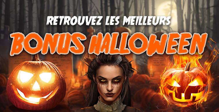 Bonus casino en ligne Halloween 2019