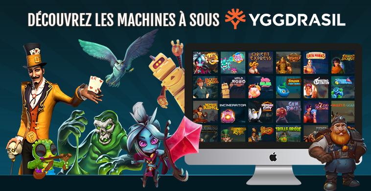 Retrouvez les jeux Yggdrasil Gaming sur le casino Cheri !