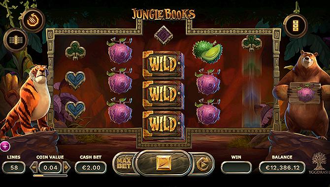 Meilleure machine à sous Jungle Book