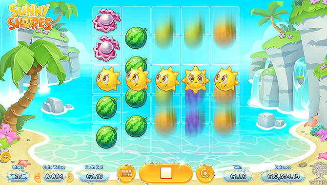 Jeux casino Sunny Shores