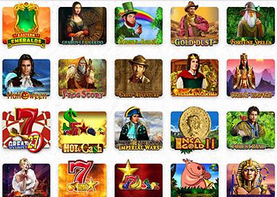 Machines à sous du casino en ligne Madnix