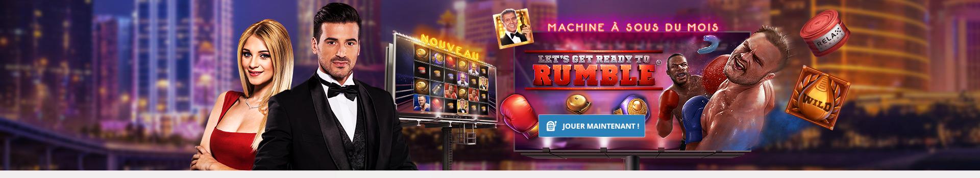 Machine à sous Let's Get Ready to Rumble par Relax Gaming