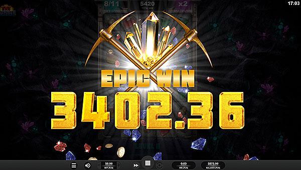 Gros gains, jackpot jeu de casino smartphone machine à sous TNT Tumble