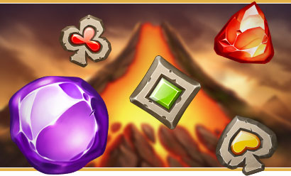 Machine à sous Play'n Go avec bonus Gold Volcano !