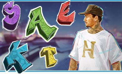 Nyjah Huston - Skate for Gold Jeu de casino machine à sous gratuite