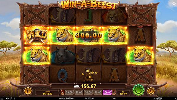 Remporter de gros gains sur le bandit manchot Win a Beest de Play'n Go !