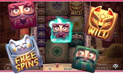 Gagner le jackpot machine à sous Yggdrasil Gaming Lucky Neko